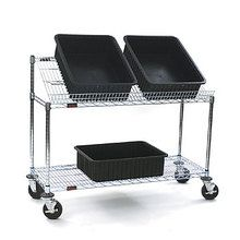 Mobile Tote Box Carrier, 24