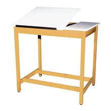 Drafting/Art Tables with 2-Piece Adjustable Top
