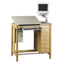Drawing Table System with Drawer Box