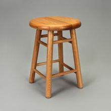 Oak Laboratory Stool, 24