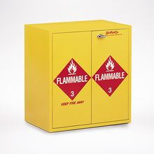Jumbo Stacking Flammables Cabinet, Self-Closing Doors