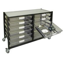 Mobile Tote Tray Cart (68 lbs)