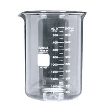 Pyrex® Glass Griffin Beaker, Low Form, Measuring, 2,000 mL