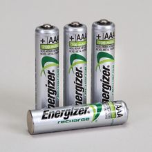 Energizer Rechargeable NiMH AAA Battery, Pack of 4