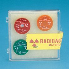 Radioactive Sources, 3-Piece Set