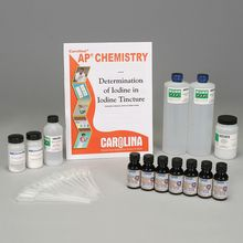 Determination of Iodine in Iodine Tincture Kit for AP® Chemistry