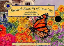 Monarch Butterfly of Aster Way Book