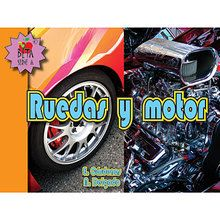 Ruedas y motor (Wheels and Engine), Big Book, Spanish