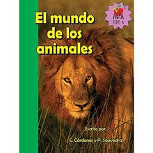 El mundo de los animales (Animal World) Book, Spanish, Set of 6