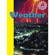 Weather Book, English, Set of 6