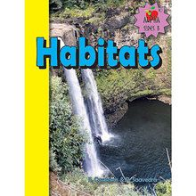 Habitats Book, English, Set of 6