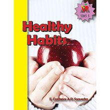 Healthy Habits Book, English, Set of 6