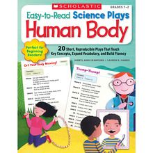 Easy-to-Read Science Plays: Human Body