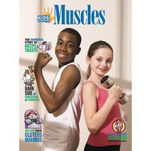 KIDS DISCOVER: Muscles, Pack of 8