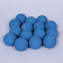 Ball, Rubber, Blue, Pack of 15
