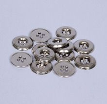 Button, Metal, Pack of 15