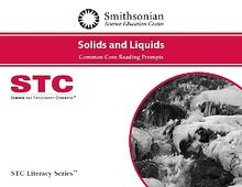STC Literacy Series™ Solids and Liquids Common Core Reading Prompts, Individual License