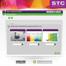 STC™ Solids and Liquids Interactive Whiteboard Activity