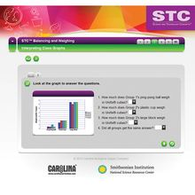 STC™ Balancing and Weighing Interactive Whiteboard Activity