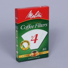 Coffee Filter, No. 4, Pack of 40