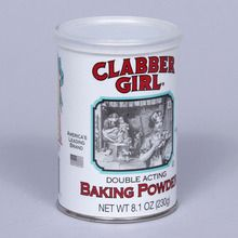 Baking Powder, Double-Acting, 4 oz