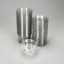 Cup, Plastic, 16 oz, with Lid, Pack of 35