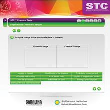 STC™ Chemical Tests Interactive Whiteboard Activity