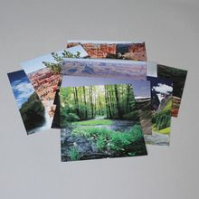 Land and Water Photography Set, 9 Cards