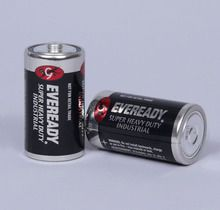 Battery, Size D, Pack of 2