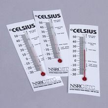 Thermometer, Plastic, Pack of 3
