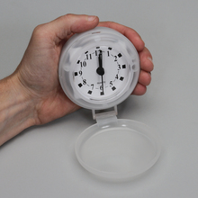 Clock, Battery-Operated, with Sweep Second Hand