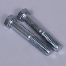 Bolt, Steel, 3 x 1/2 in, Pack of 2