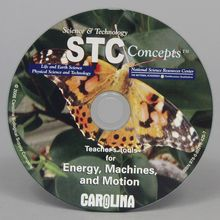 Teacher's Tools CD-ROM: Energy, Machines, and Motion