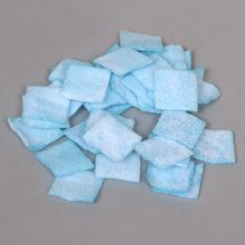 Copper Sulfate, Square, 1 x 1 inch, Pack of 36