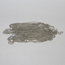 Chain, Beaded Brass, 5 ft. long
