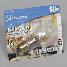 Lightbulb, Halogen, Clear, 60 W