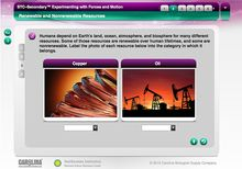 STC-Secondary™: Experimenting with Forces and Motion Interactive Whiteboard Activity