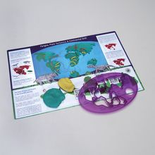 Pangaea Cutter and Placemat Set