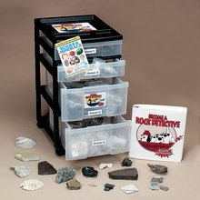 Become a Rock Detective Rolling Cart Kit, Grades 5-8