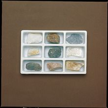Hardness Scale Minerals Collection, 9 pieces