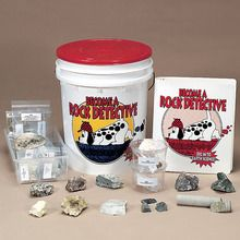 Become a Rock Detective Bucket Kit, Grades 1-4