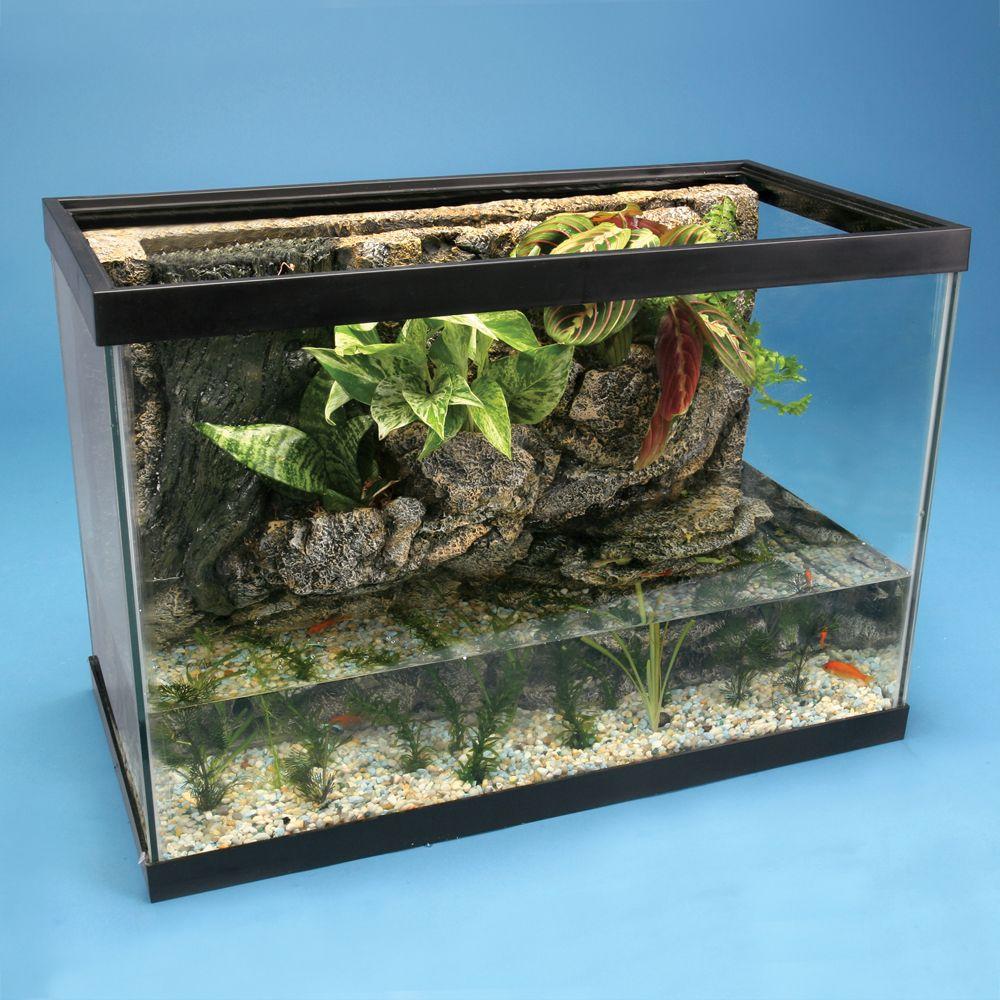 River tank ecosystem 30 gallon complete for 30 gallon fish tank kit