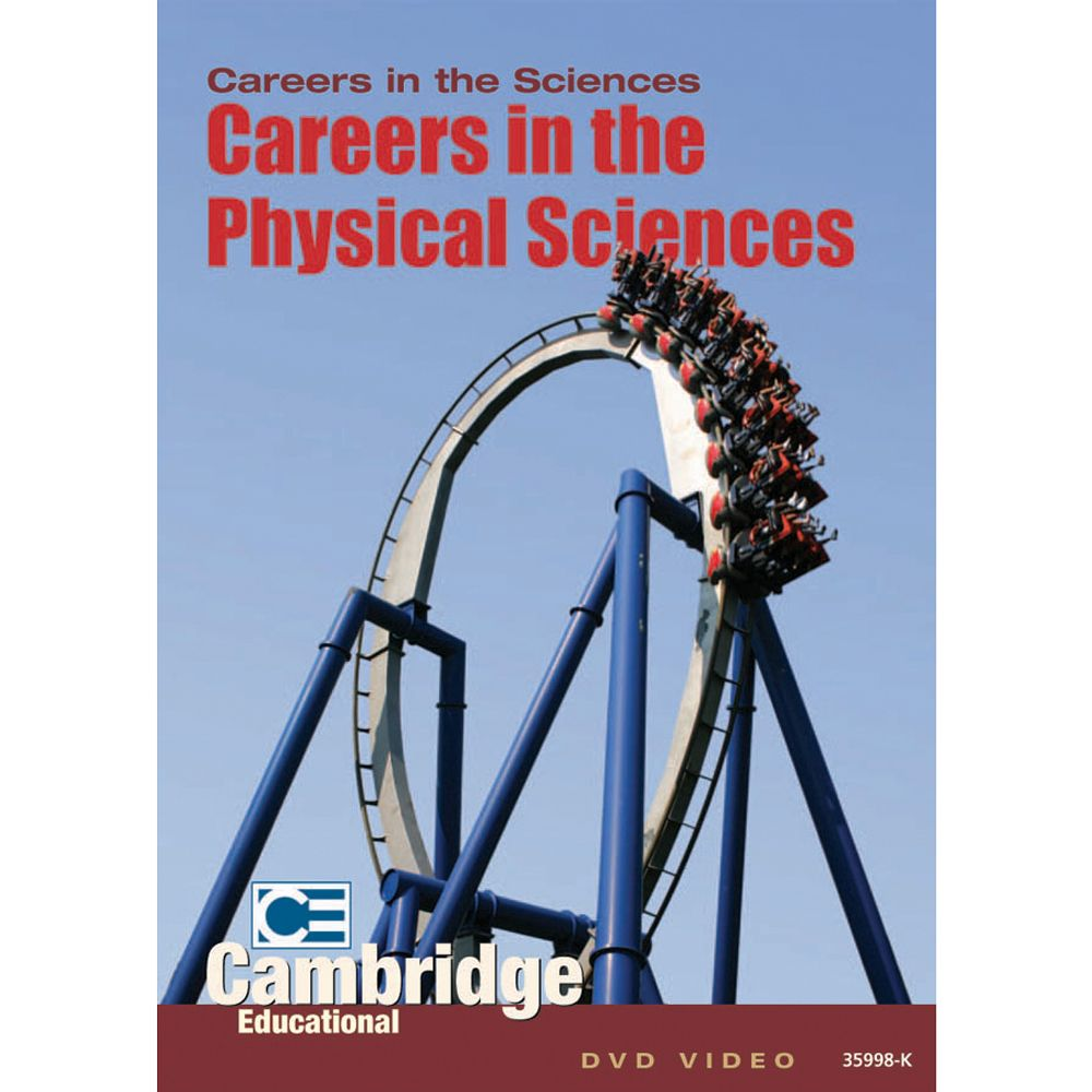 Physical Science: Careers In The Physical Sciences DVD