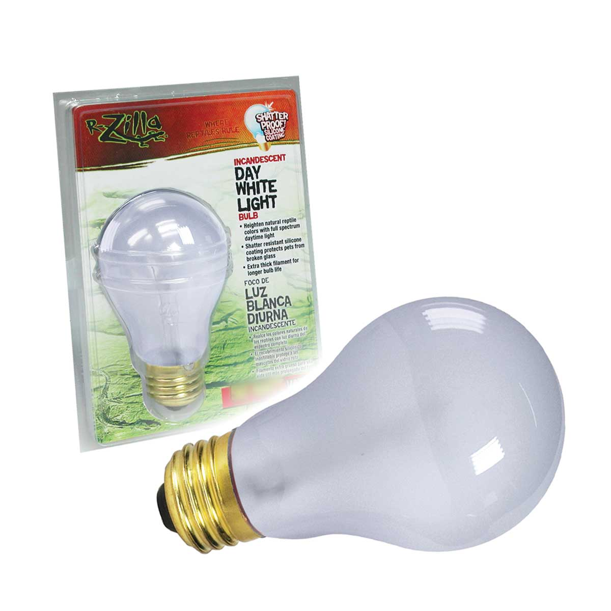 Incandescent White Daylight Bulbs