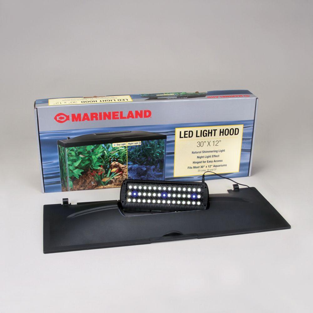 Aquarium Hood, Full, LED, for 29-gal Tank Carolina.com