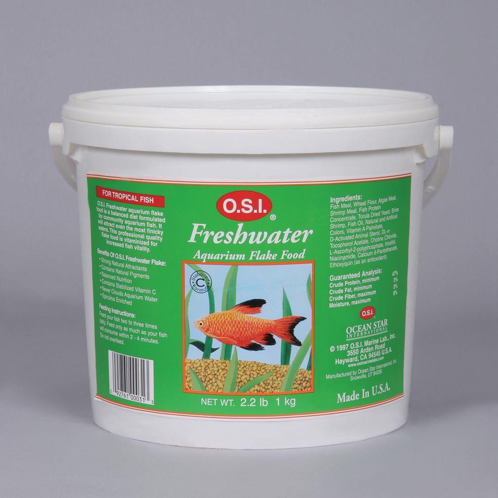 Freshwater aquarium fish food flakes for Freshwater fish food
