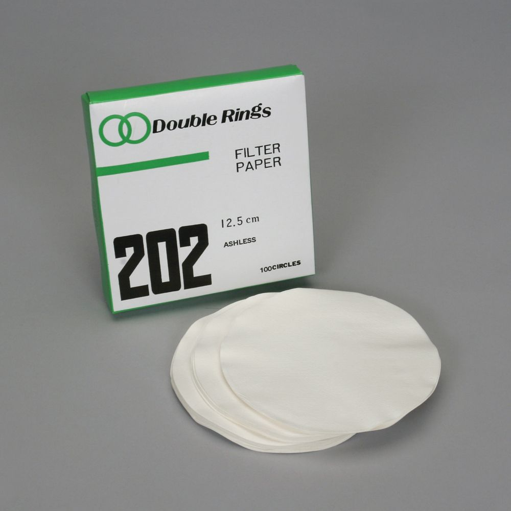 filter paper The most widely used filter paper for routine applications with medium retention  and flow rate extended range of sizes includes 10 to 500 mm diameter circles.