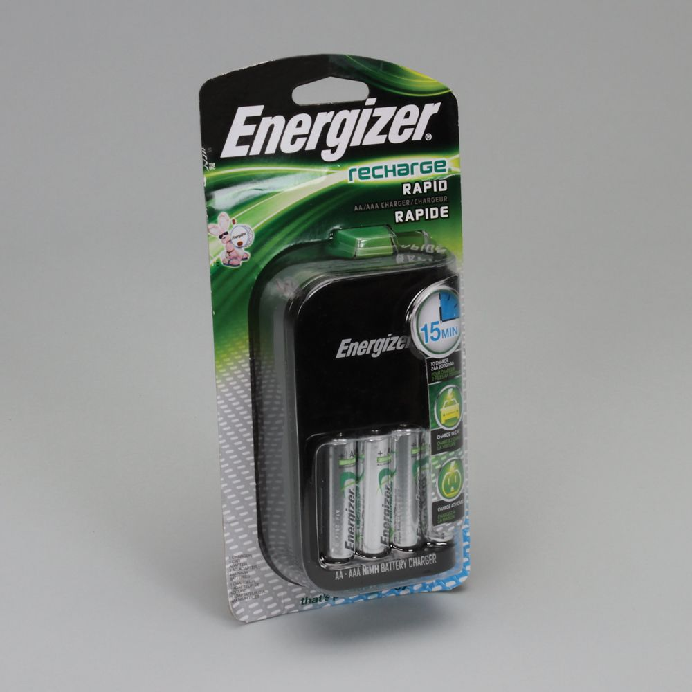 energizer fast nimh battery charger for aa and aaa only. Black Bedroom Furniture Sets. Home Design Ideas