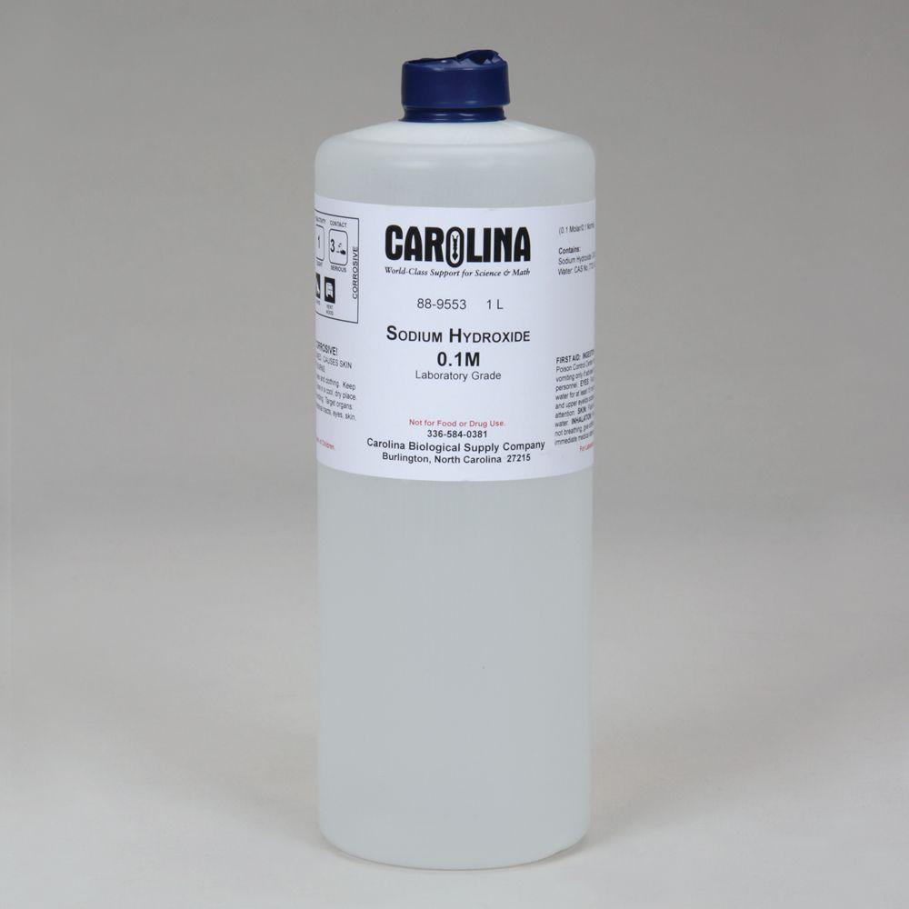 Sodium Hydroxide, 0.1 M (0.4%), Aqueous, Laboratory Grade
