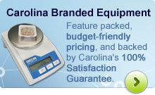 Carolina Branded Equipment: Designed by teachers for teachers, feature packed, budget-friendly pricing, and backed by Carolina's 100% Satisfaction Guarantee.